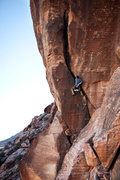 Rock Climbing Photo: Myself on Allied Forces. Jan 2012