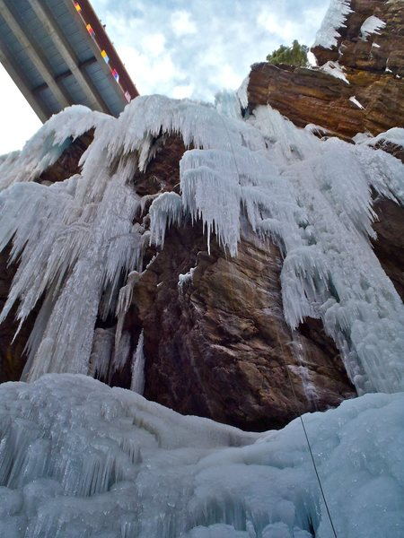 "Rock Climbing Photo: This mega classic (per ""Colorado Ice"") N..."