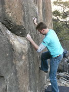 Rock Climbing Photo: This shows the start of whiskey sweats. The start ...