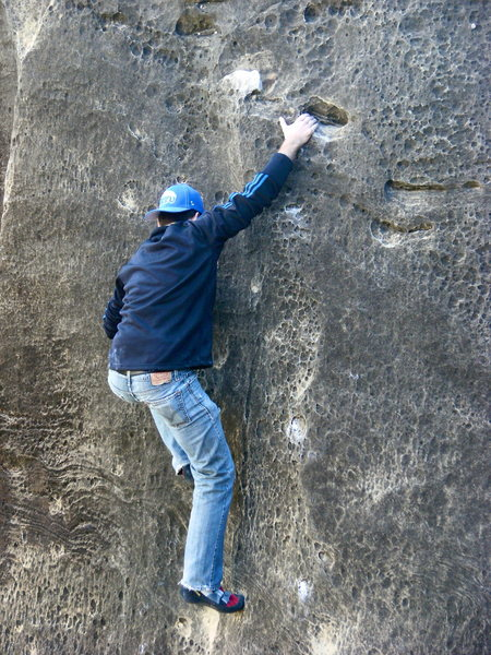 Rock Climbing Photo: Kyle Hollenbeck on Canadians Finest