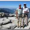 After climbing Snakedike, Half Dome, Yosemite