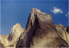 Rock Climbing Photo: Some of the Big Walls in the Karavshin Valley