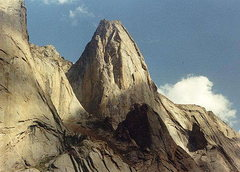 Rock Climbing Photo: More Big Wall in the Karavshin Valley