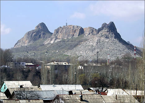 Sulayman's Mount in Osh.