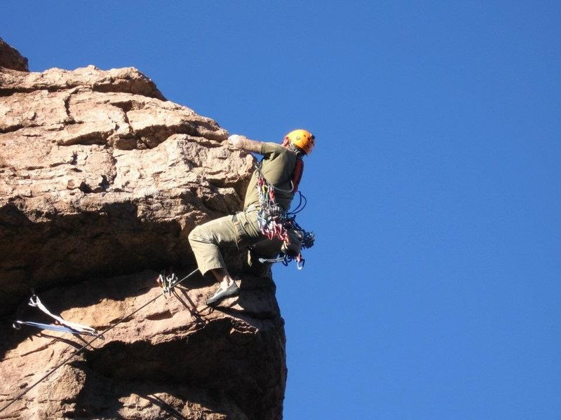 Rock Climbing Photo: Almost there!