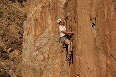 Rock Climbing Photo: John looking good