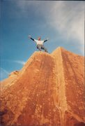 Rock Climbing Photo: Fringe of death Bouldering.Party like its 1999.