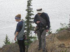 Rock Climbing Photo: Bob and Angela Ramponi July 2011