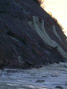 Rock Climbing Photo: Ninilchik beach bluffs approx 1 mile south