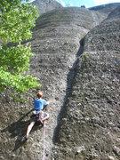 Rock Climbing Photo: Pebble-pinching