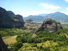 Rock Climbing Photo: Ostkante follows the obvious left ridge.  You can ...