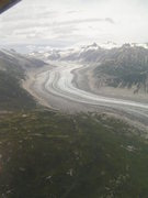 Lake Clark Pass near Summit Lk looking west