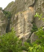 Rock Climbing Photo: The chimney of Talweg