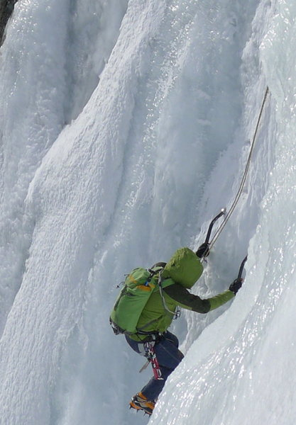 Rock Climbing Photo: Blue Ice Warthog pack 27L