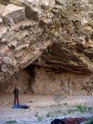 Rock Climbing Photo: Swamp Thing. Hayden Eatchel Photo