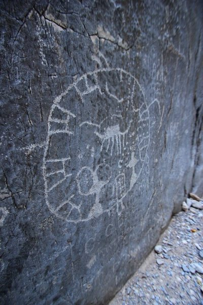 Rock Art in Arrow Canyon