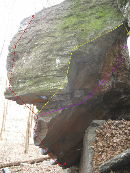 Rock Climbing Photo: The Three Blade Topout Variations