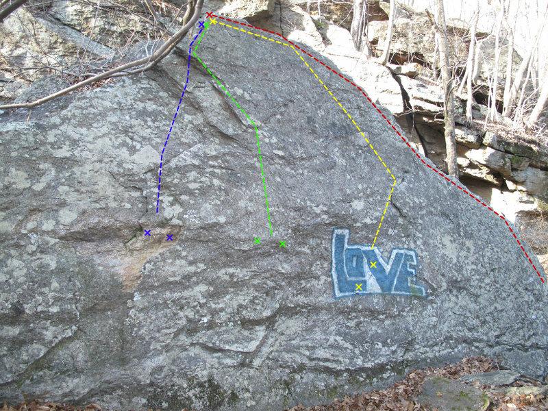 Rock Climbing Photo: Samp Slab