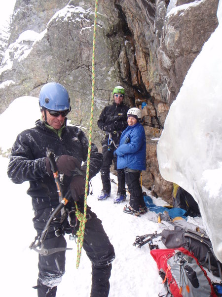 Rock Climbing Photo: loch vale