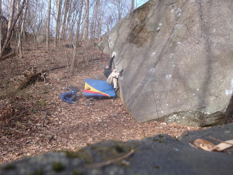 Rock Climbing Photo: Tomb Traverse