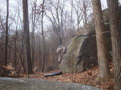 Rock Climbing Photo: Finding the balance on Shitake, Governor Stable, P...