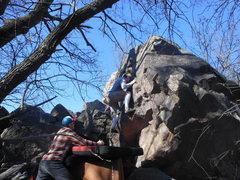 Rock Climbing Photo: Logan on the Psychiatrist