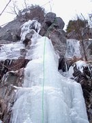 """Rock Climbing Photo: This is the proposed line of """"Blue Ribbon&quo..."""