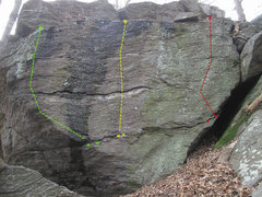Rock Climbing Photo: Pictured in Green