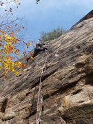 Rock Climbing Photo: chasin' the wind-late fall 2011