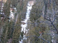 Rock Climbing Photo: Very interesting pitches in the woods west from Pi...