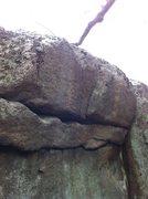 Rock Climbing Photo: Plateau Boulder.