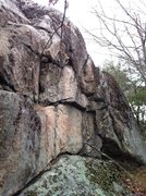 Rock Climbing Photo: Plateau Boulder.