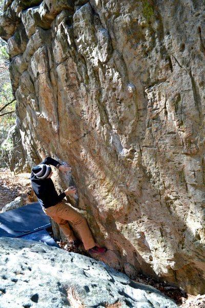 Rock Climbing Photo: CUBE
