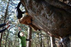 Rock Climbing Photo: best problem at BRF.