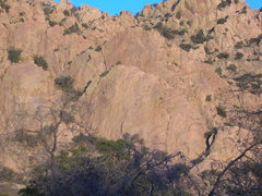 Rock Climbing Photo: Rad and Trad rocks. We saw a newer route on the fa...