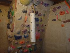 Rock Climbing Photo: up close