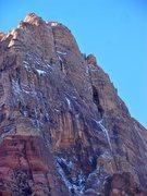 Rock Climbing Photo: Aeolian Wall as an ice climb.