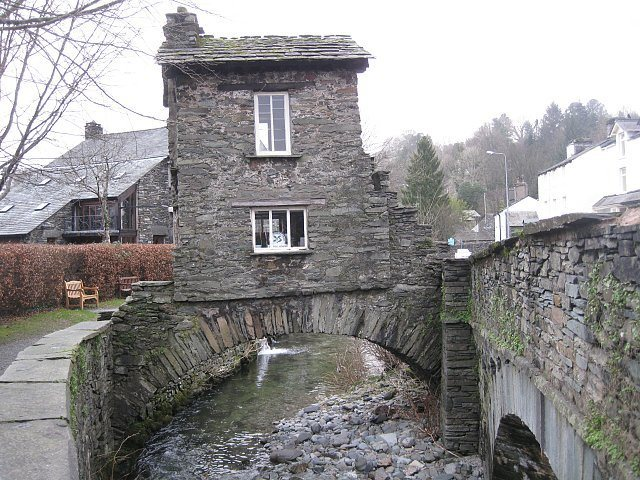 Bridge House in the town of Ambleside. Photo Bowker