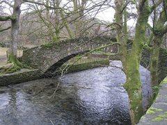 Rock Climbing Photo: Bridge near town of Ambleside, English Lake Distri...