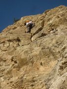 Rock Climbing Photo: In the middle of Cha-Cha-Cha in the late afternoon