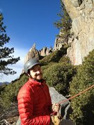 Rock Climbing Photo: View from the Jane Spy belay station