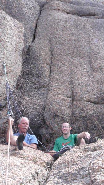 Rock Climbing Photo: Tom & I