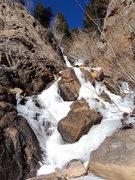 Rock Climbing Photo: Windy Gulch Cascades, 1/12/12.