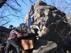 Rock Climbing Photo: Logan on Psychiatrist