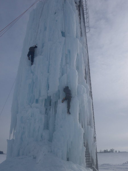 Rock Climbing Photo: Ice Silo