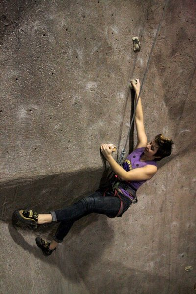 Rock Climbing Photo: Hannah at Vertical Dreams Nashua (Opening SOON!)
