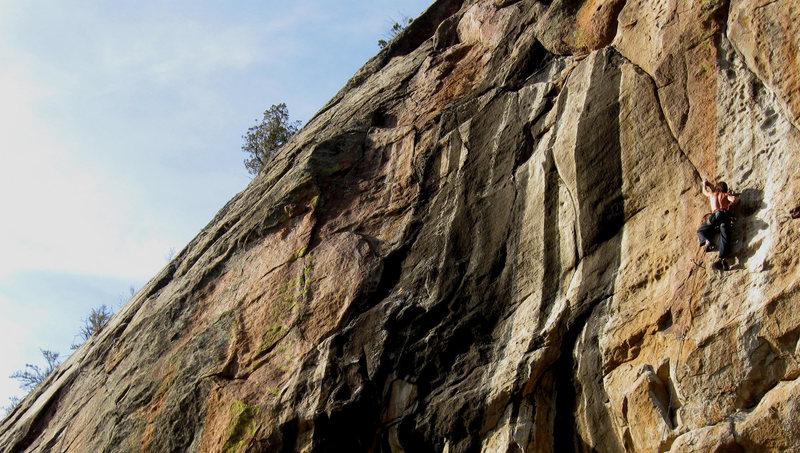 Rock Climbing Photo: Zoltan on Continental Drift 5.12+