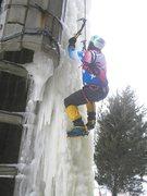 Rock Climbing Photo: silo early season ice