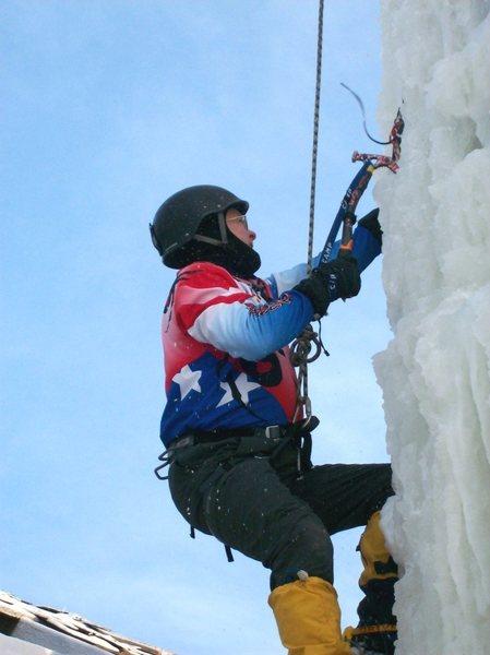 Rock Climbing Photo: tool time