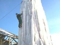 Rock Climbing Photo: Juggler on the ice